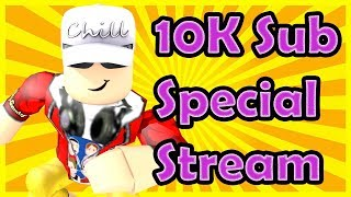 10K Sub Special! - 10 Hours of LIVE STREAMING | SPECIAL GUESTS | Roblox, Animal Jam, Cuphead, More!