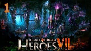 Прохождение Might and Magic Heroes 7 (БЕТА2) #1 - Лига теней