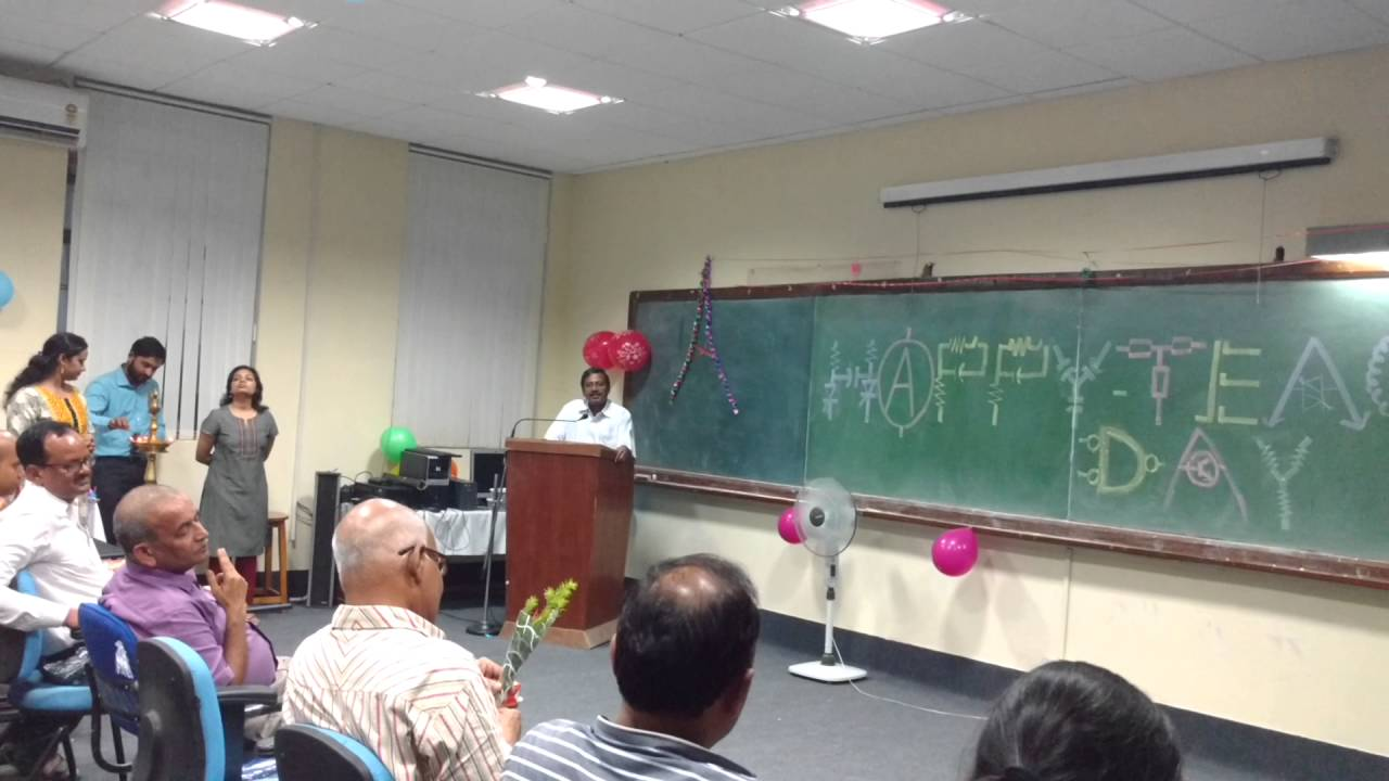 Teachers Day Celebration Me Eee 2016 Bit Mesra Ranchi Youtube Grieteeeprojects11 Control Of Electrical Appliances Using Remote