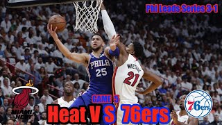 Sixers Double Moonwalk Time... Heat vs 76ers!!! Game 5 Live Reaction