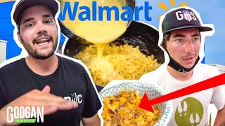 Walmart GOURMET Mac and Cheese Cooking CHALLENGE! (Googan vs Googan)