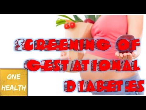 Screening Of Gestational Diabetes