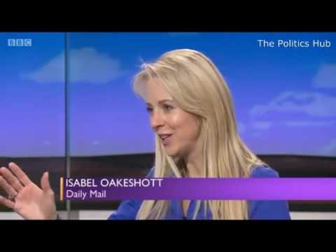 BBC Daily Politics Reactions to Theresa May Cabinet