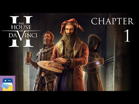 The House of Da Vinci 2: Chapter 1 Castello Estense Walkthrough & iOS Gameplay (by Blue Brain Games)