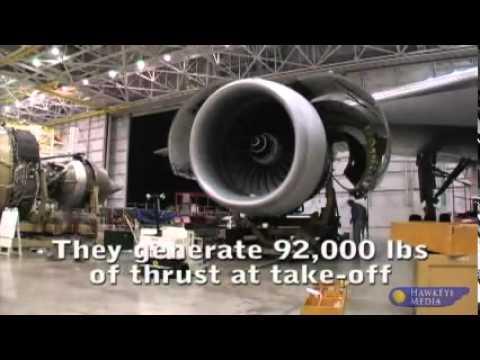 Boeing 777 #2 Engine Change video.flv