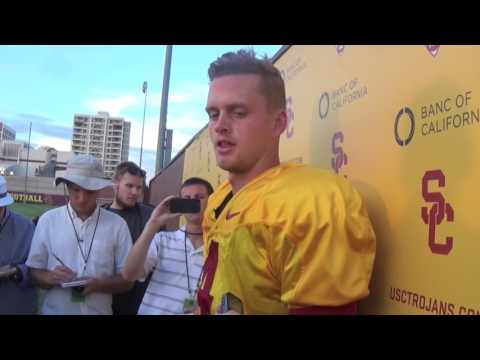 Sam Darnold, Max Browne speak on USC QB change