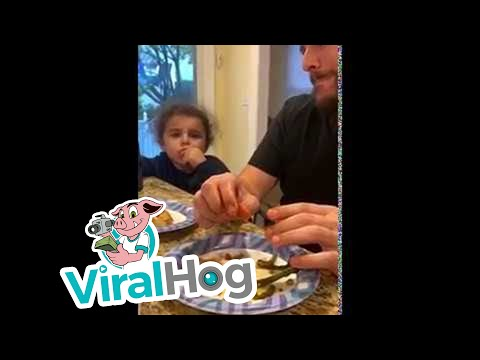 Tony Sandoval on The Breeze - Dad tries to trick his kid to eat Asparagus… but it doesn't work
