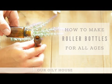 How to Make Roller Bottles | Diluting Essential Oils
