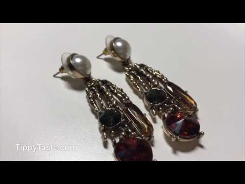 TIPPY TASTE JEWELRY UNBOXING with PAVLINA in NYC wearing with DAYA Interview