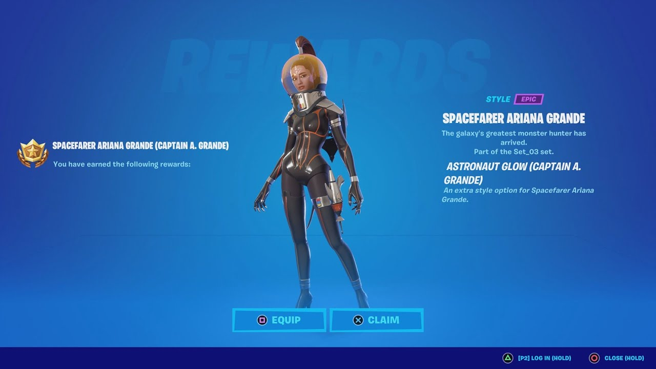 Did EVERYONE Just Get A FREE Style For The New Ariana Grande Skin?!