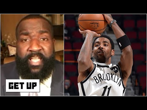Kyrie Irving isn't taking a backseat to anyone! - Kendrick Perkins on Cavs vs. Nets   Get Up