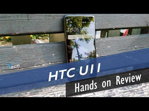 HTC U11 Hands on Review [Greek]