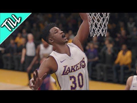 NBA Live 18 The One Walkthrough - Pt.5 Debut NBA Game W/LA Lakers