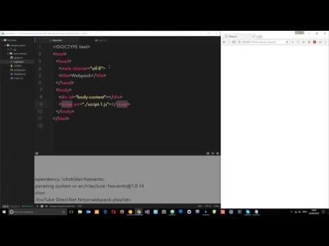 Webpack Tutorial for Beginners #2 - Installing Webpack & Bundling JS Files