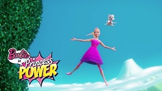 Learning to Fly | Princess Power Sneak Peek | Barbie