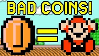 COINS KILL YOU! in Super Mario Bros. 3 | Bad Coins Rom Hack