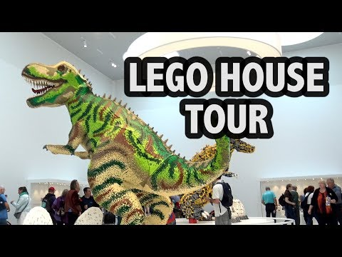 Complete Tour of LEGO House in Denmark