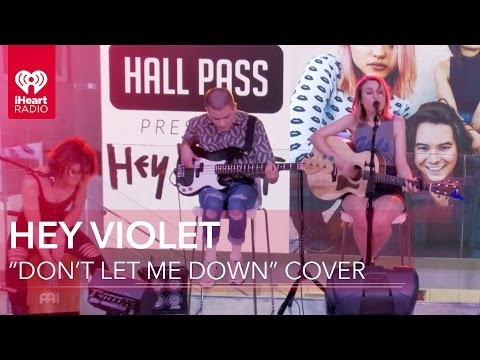 """Hey Violet - """"Don't Let Me Down"""" The Chainsmokers Cover Live Acoustic 