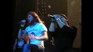 Saratoga feat Leo Jimenez - Vientos de Guerra (XX Aniversario -  Joy Eslava, Madrid, 20-10-2012)