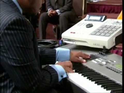 Jason White introduces GB5 to West Angeles COGIC