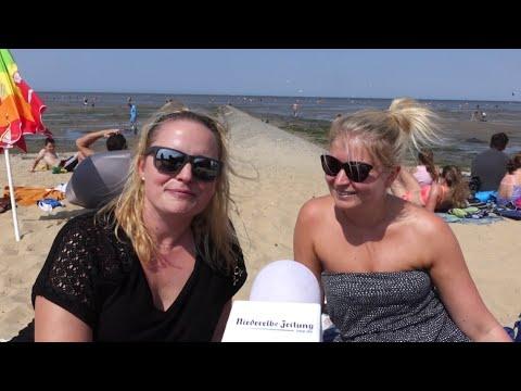 Hitzewelle in Cuxhaven (Cuxhavener Nachrichten/Niederelbe-Zeitung)