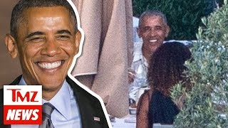 Obama's Million Happy Faces During Family Dinner in France | TMZ NEWSROOM TODAY