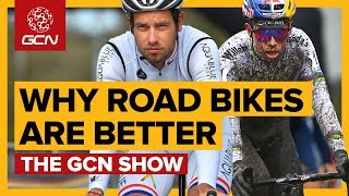 4 Reasons Why Road Bikes Are Better Than Gravel Bikes   The GCN Show Ep. 296