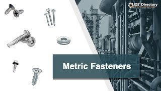 Metric Fastener Manufacturers, Suppliers, and Industry Information