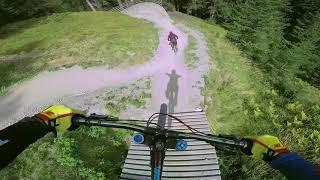 PARTY BIKE PARK LAP - Downhill Freeride lives   Felix´s Welt