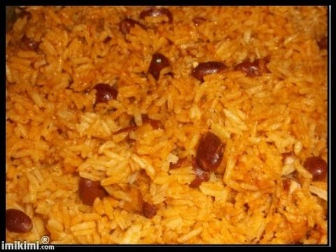 How To Cook Yellow Rice With Red Kidney Beans