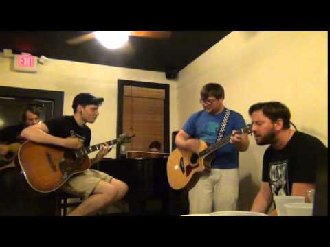 Wicker acoustic 6.9.15 at Avenue Coffee Smith7 Records World Pants Tour