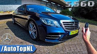 2018 Mercedes Benz S Class S560 REVIEW POV by AutoTopNL