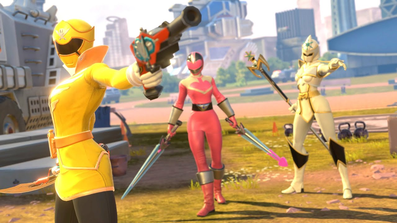 PowerRangers BFTG Battle For The Grid Season3 Versus Play Gia Moran Team With Samurai MegaZord