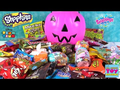 Thumbnail: Candy & Blind Bag Palooza #2 | Shopkins Snickers Boogers Zombies MLP Tasting Review | PSToyReviews