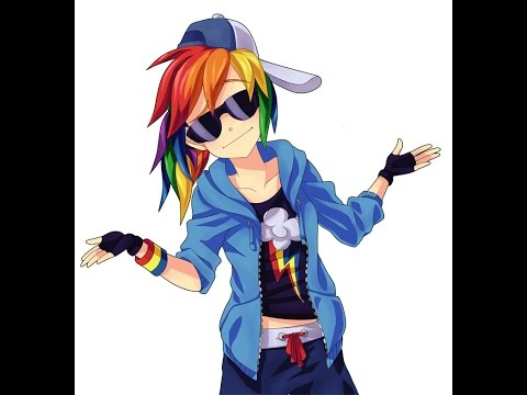 rainbow dash MV (give me a song DJ)
