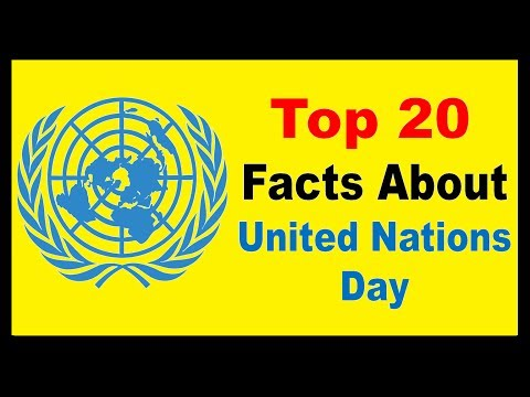 United Nations Day 2017 - Facts