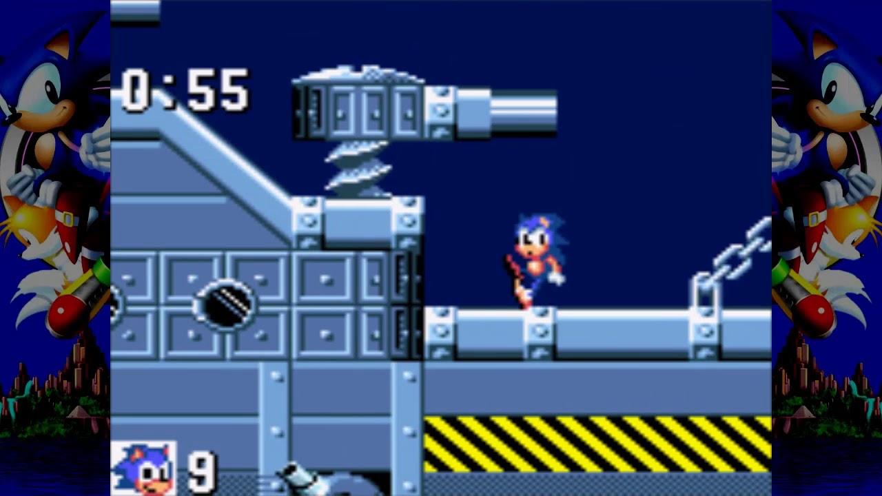 Sonic The Hedgeog GG (Finale) - Scontro nei cieli