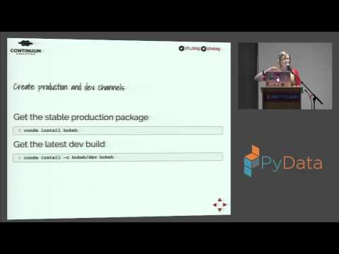 Christine Doig - Reproducible Multi language Data Science with Conda