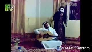 Chết cười với trò dọa ma kiểu Ả-Rập =))))))))