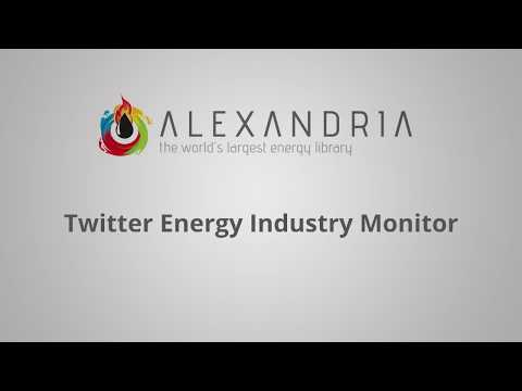 Twitter Energy Industry Monitor