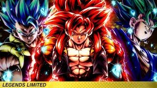 3 REGINING GODS OF PVP!- RAW GAMEPLAY OF LF SSJ4 GOGETA, GOGETA BLUE & VEGITO!- Dragon Ball Legends