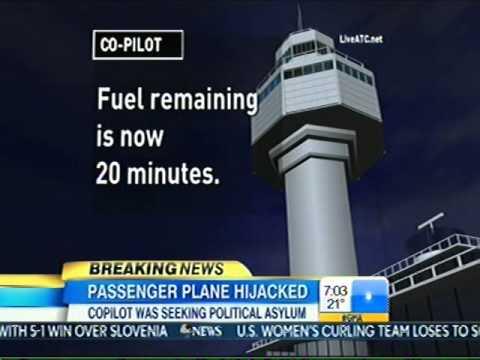Co-Pilot Hijacks Ethiopian Plane Surrenders To Swiss Police 2-17-14