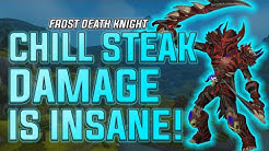 Chill Streak Damage is INSANE! - Frost Death Knight PvP - WoW BFA 8.3