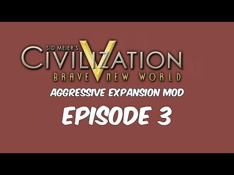 Sid Meier's Civilization 5 Aggressive AI Mod Ep.3 |