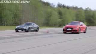 [50p] Mercedes AMG GT S vs Audi RS7