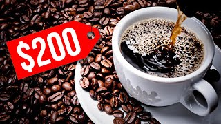 The World's Most Expensive Cup Of Coffee