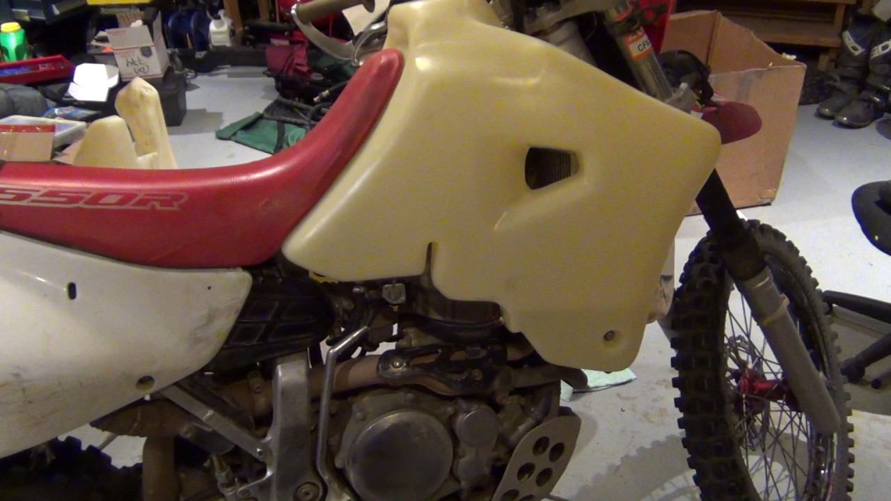 Honda XR650R IMS Products 7 Gallon Fuel Tank - Installed