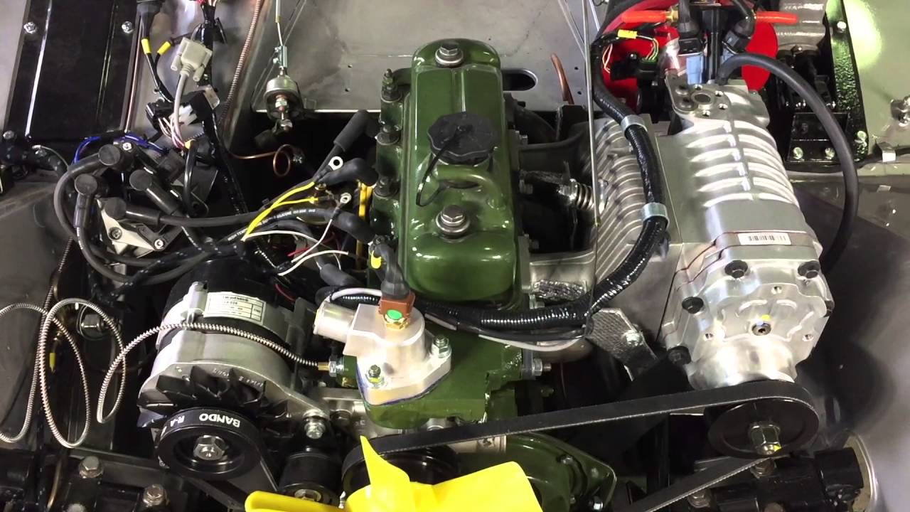 Fuel injected supercharged Bugeye