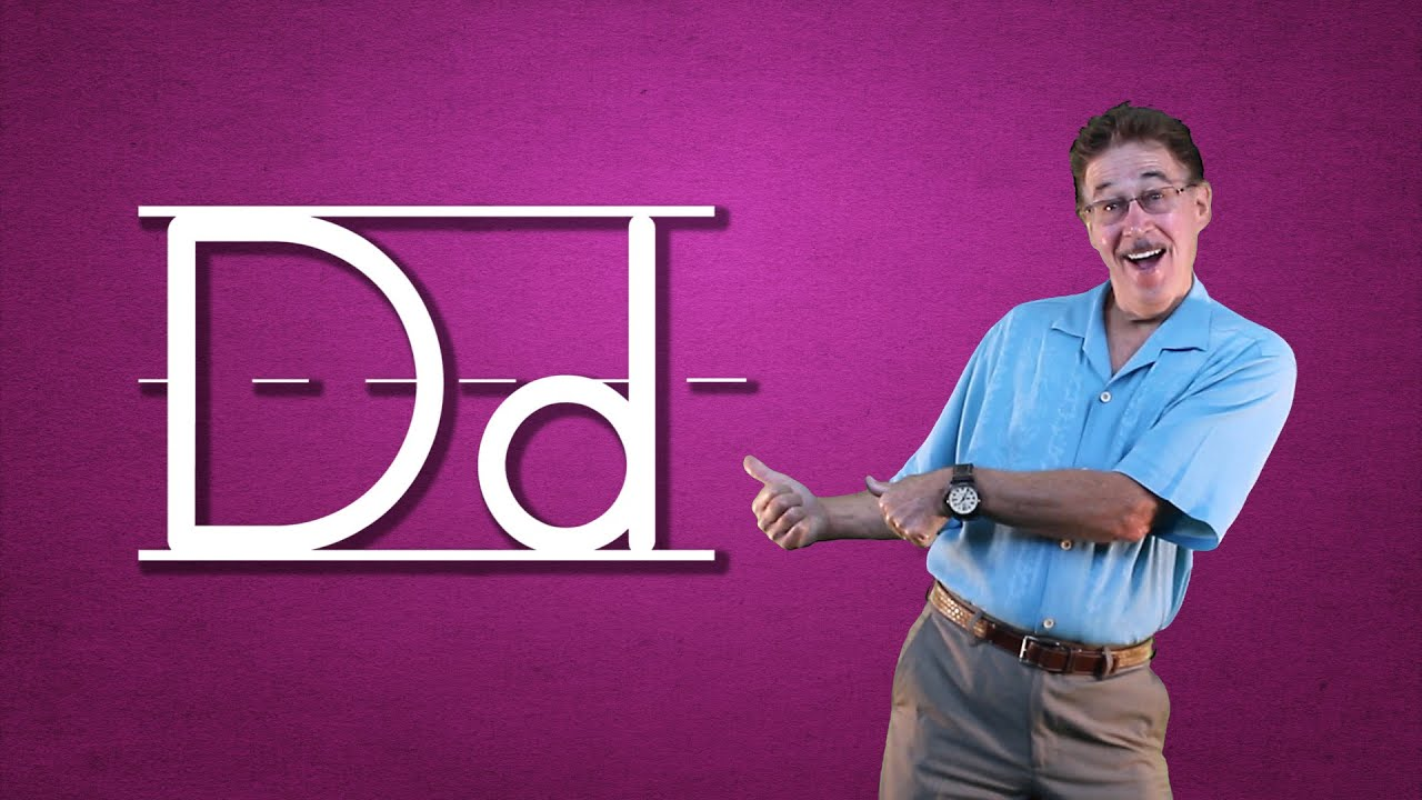 Learn The Letter D Lets Learn About The Alphabet Phonics Song