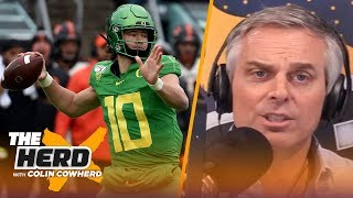 Colin Cowherd plays the 3-Word Game with notable NFL Draft prospects | THE HERD